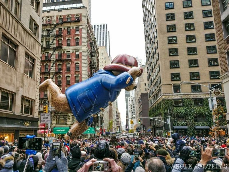 Macy's Day Parade, el desfile de Macy's, en Nueva York