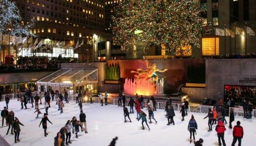 Las pistas de patinaje sobre hielo más famosas de Nueva York