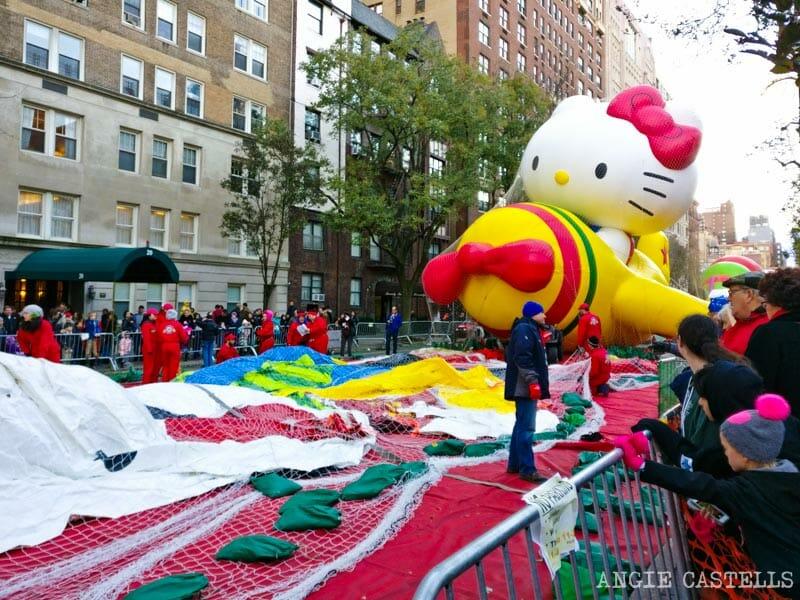 El desfile de Macy's y Acción de Gracias