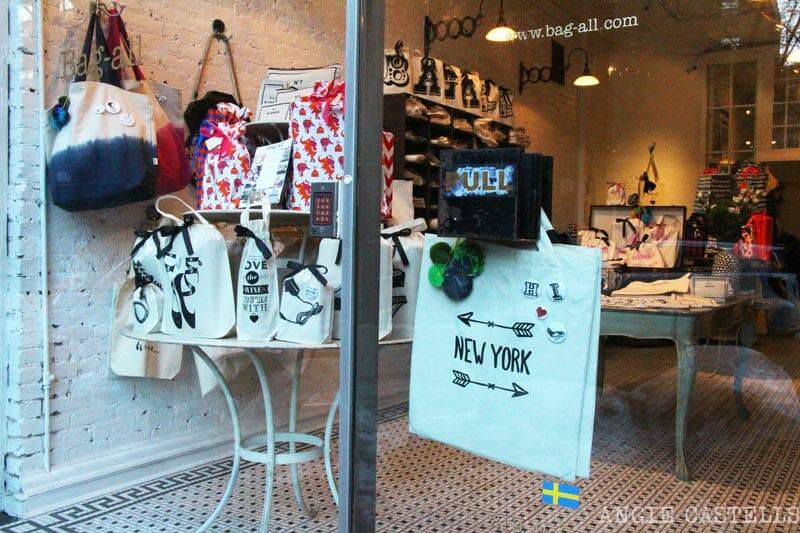 Mejores tiendas Nueva York regalos Bag All