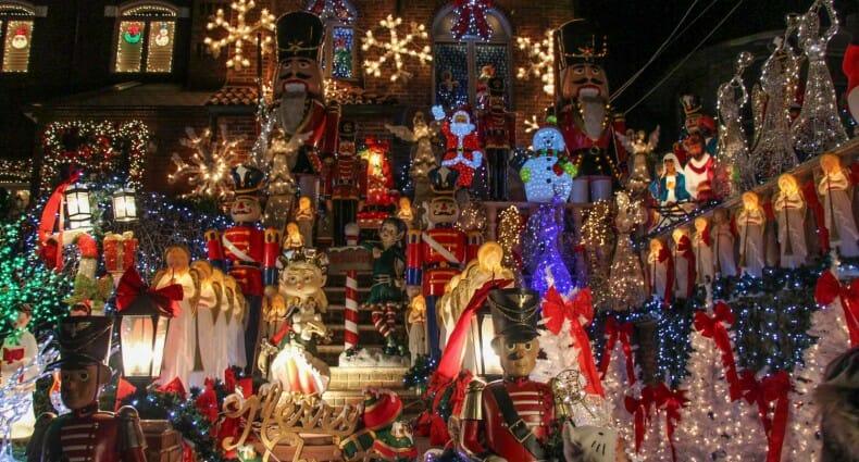 Visitar luces de Navidad de Dyker Heights Nueva York-1