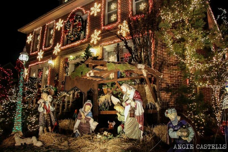 Visitar luces de Navidad de Dyker Heights Nueva York-10