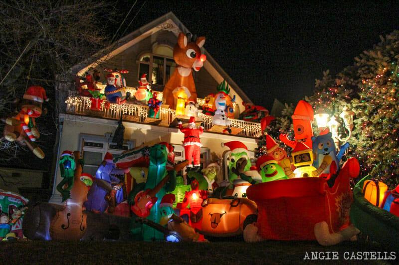 Visitar luces de Navidad de Dyker Heights Nueva York-11