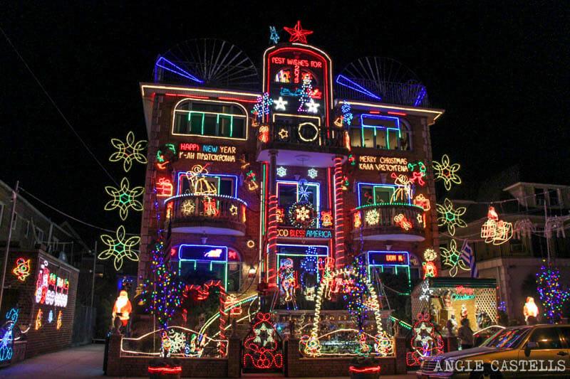 Visitar luces de Navidad de Dyker Heights Nueva York-12