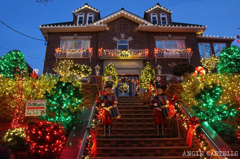 Visitar luces de Navidad de Dyker Heights Nueva York