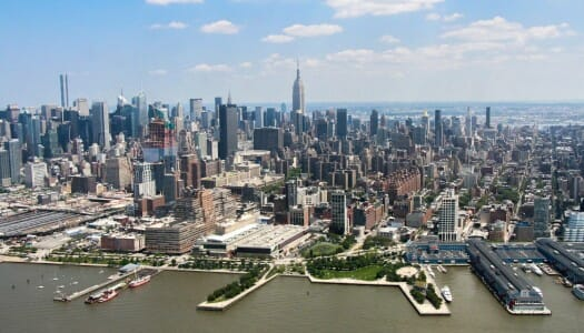Volar en helicóptero por Nueva York