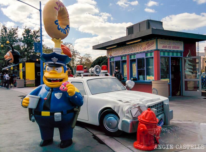 Visitar Universal Orlando atracciones consejos Springfield