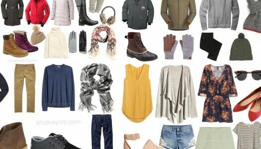 El tiempo en Nueva York y qué ropa llevarte según la época