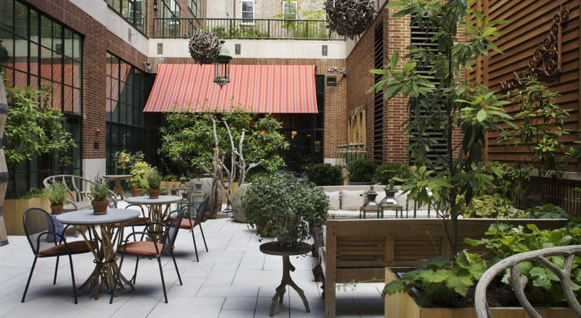 Hoteles romanticos y lujo Nueva York Crosby Street Hotel 2