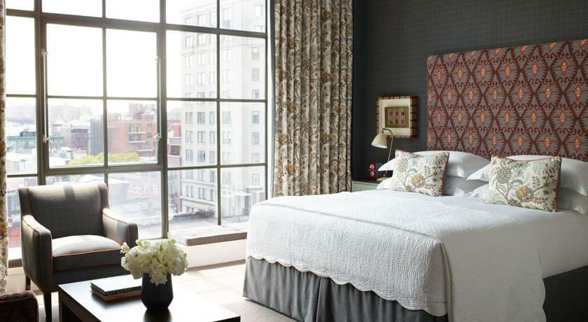 Hoteles romanticos y lujo Nueva York Crosby Street Hotel