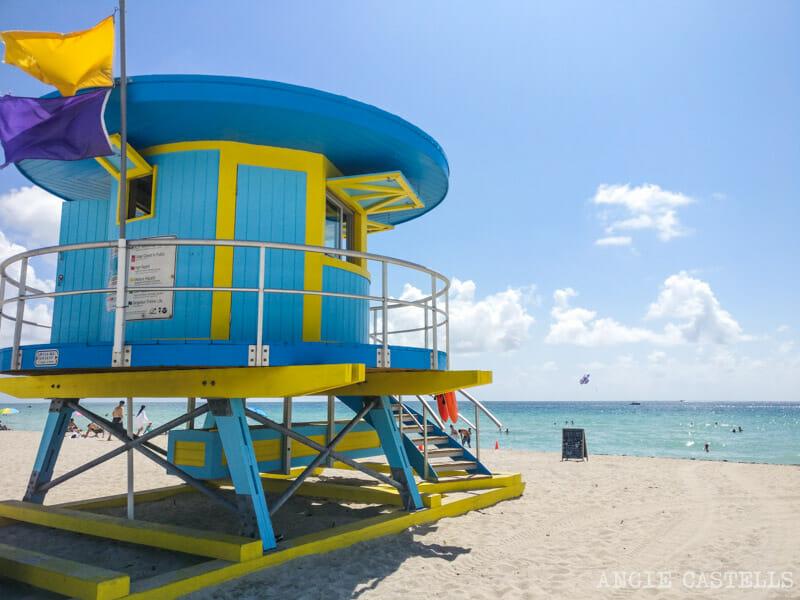 Qué ver en Miami en 2 días - South Beach Vigilantes de la playa