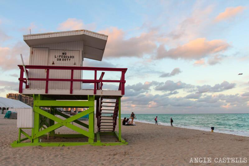 Que ver en Miami en 2 dias South Beach playa