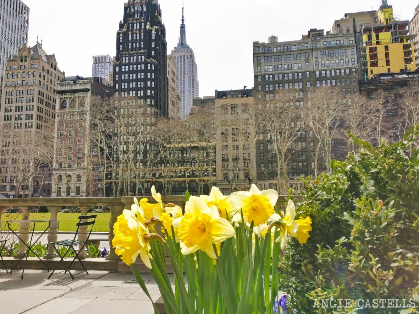 Qué hacer en primavera en Nueva York - Bryant Park