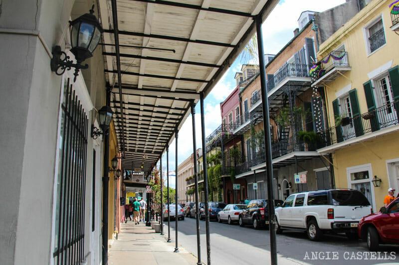 Guia de Nueva Orleans French Quarter arquitectura