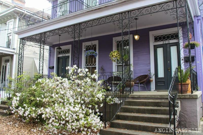Guia de Nueva Orleans Garden District arquitectura