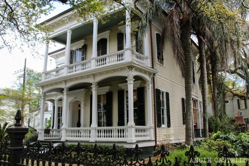 Guia de Nueva Orleans Garden District casas