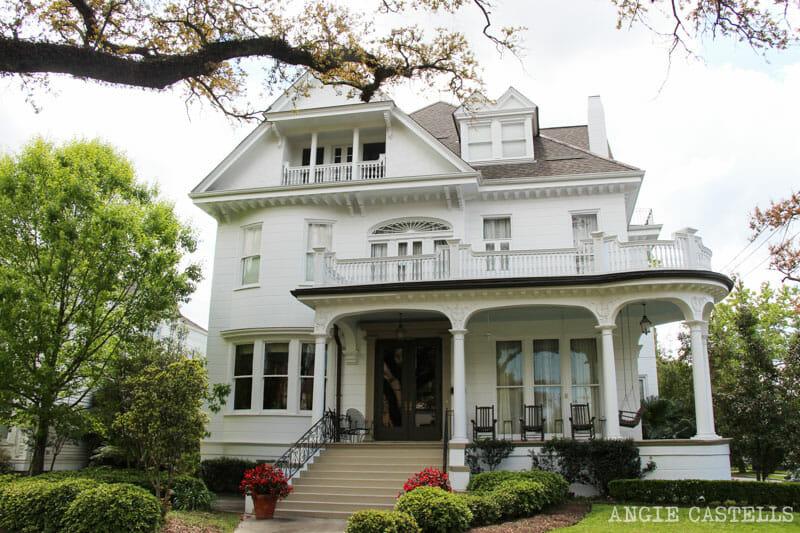 Guia de Nueva Orleans Garden District mansiones