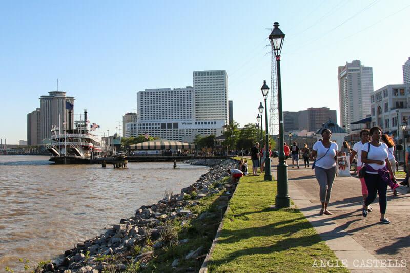 Guia de Nueva Orleans Rio Mississippi