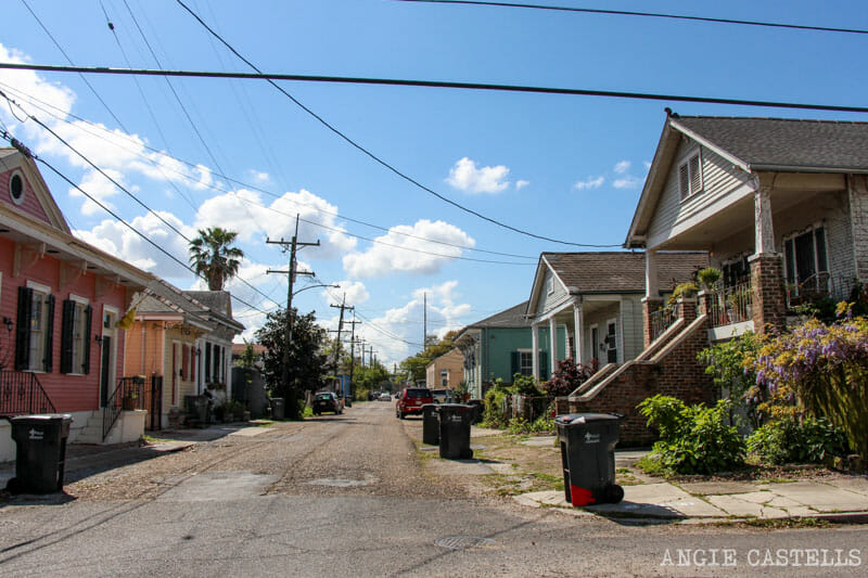 Guia de Nueva Orleans casas y calles