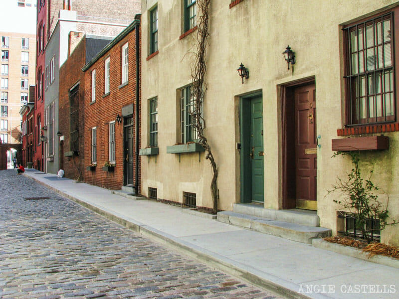 Washington Mews calle mas bonita Nueva York-1