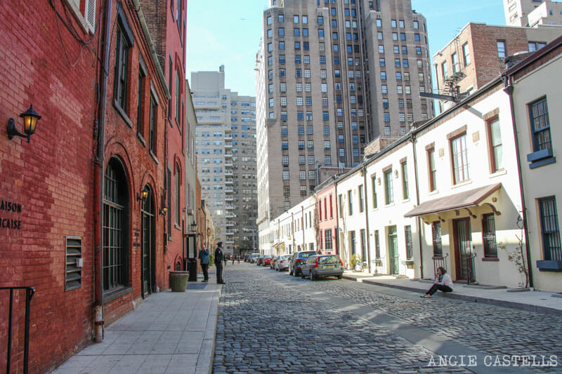 Washington Mews calle mas bonita Nueva York