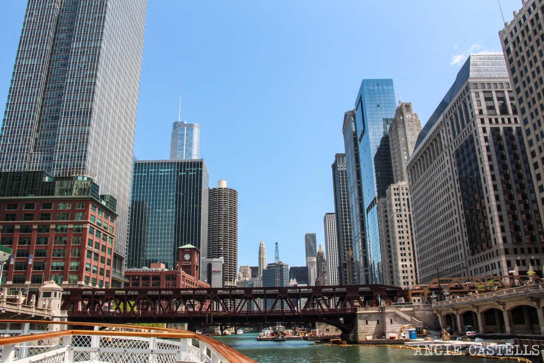 Qué ver en Chicago en dos días: crucero arquitectónico por el río