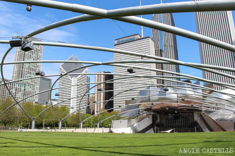 Qué ver en Chicago en dos días - Jay Pritzker Pavillion, Millennium Park