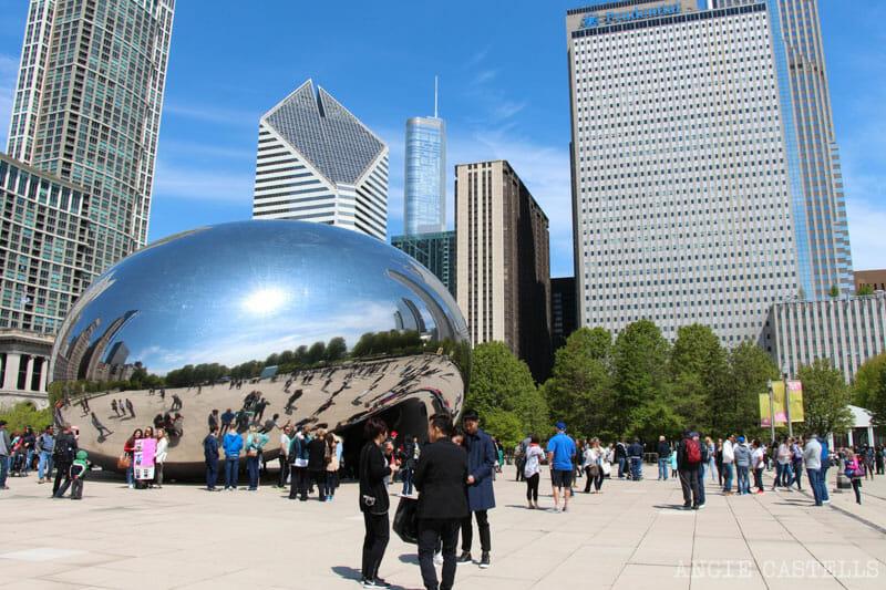 Qué ver en Chicago en dos días - Cloud Gate, Millenium Park