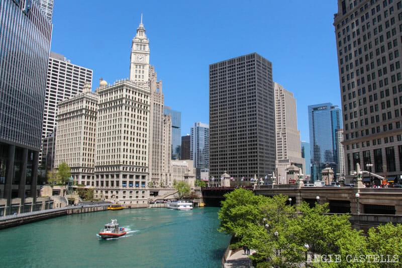 Qué ver en Chicago en dos días - Crucero arquitectónico río Chicago
