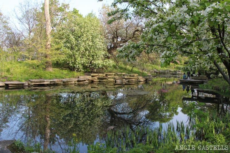 Qué ver en Chicago en dos días - Alfred Caldwell Lily Pool, LIncoln Park