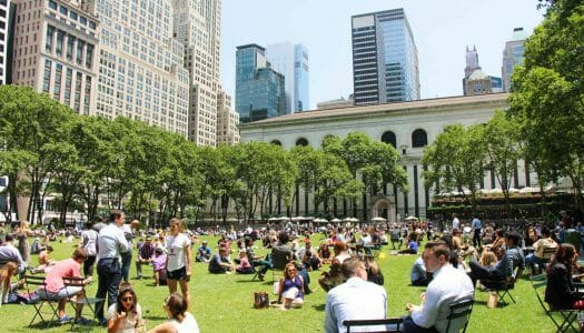 Guía de Bryant Park, un oasis en Manhattan