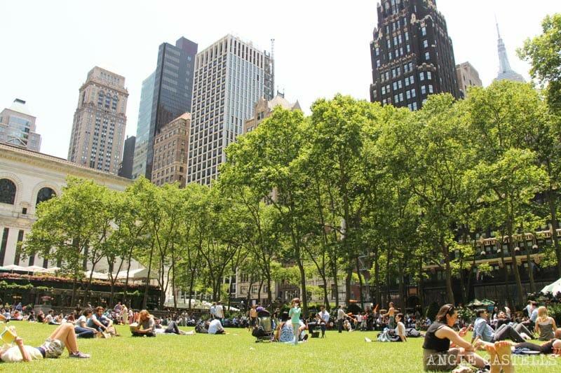 Guía de Bryant Park, el parque más bonito de Nueva York