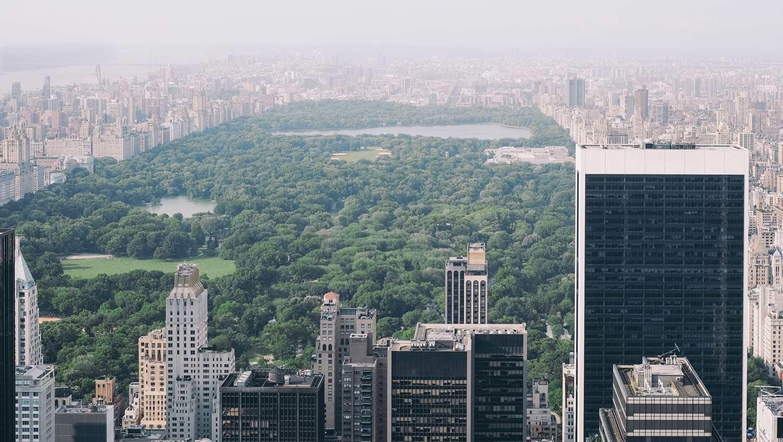 Cómo funciona la tarjeta New York C3 - Central Park desde el Top of the Rock