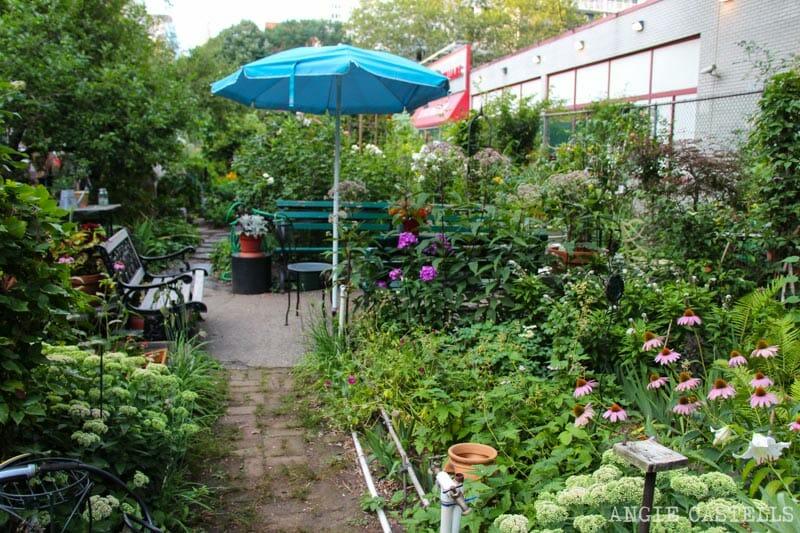 Cosas que las guías de Nueva York no te cuentan: jardines comunitarios