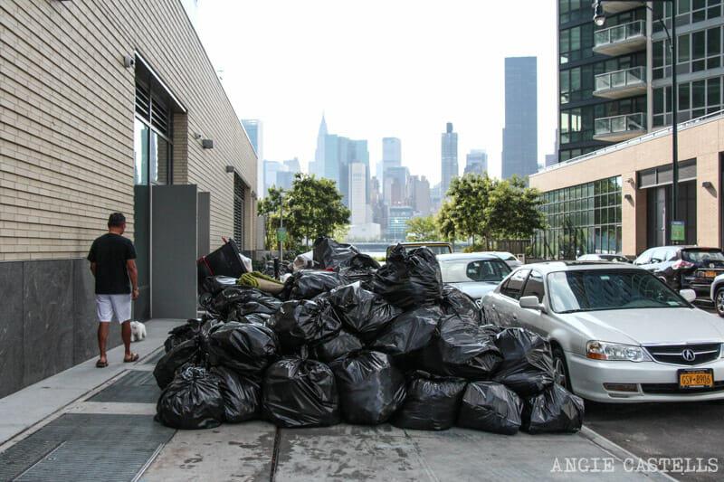 Cosas que las guías de Nueva York no te cuentan: la basura