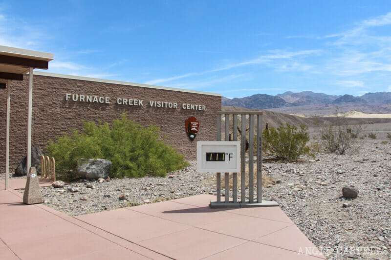 Qué ver en el Death Valley - Furnace Creek Visitor Center