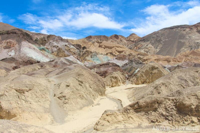 Qué ver en el Death Valley - Artist's Palette