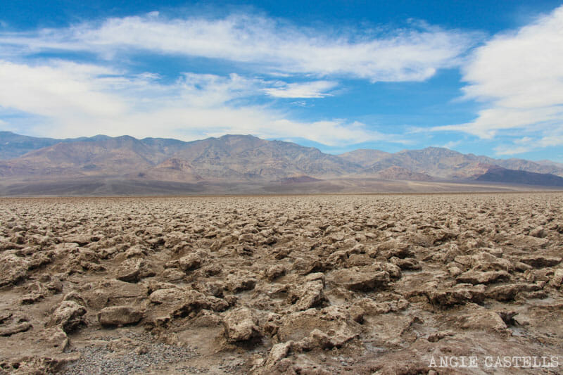 Qué ver en el Death Valley - Devils Golf Course