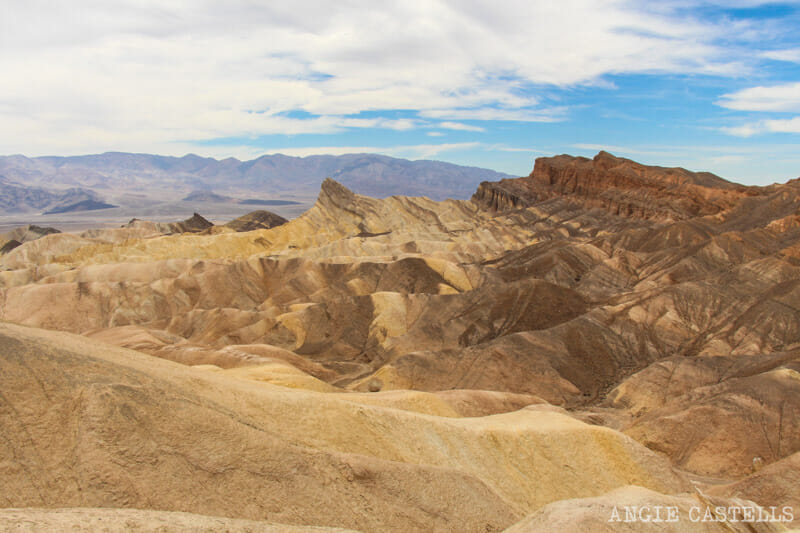 Qué ver en el Death Valley - Zabriskie Point