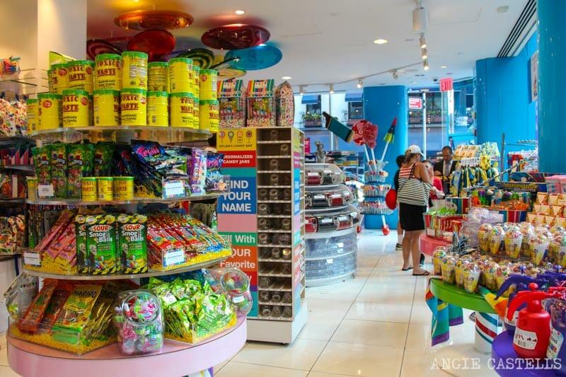 Visitar Dylan's Candy Bar, la mayor tienda de golosinas de Nueva York