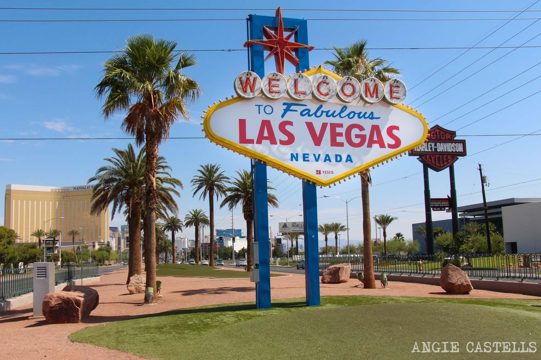 Guía de Las Vegas - Cartel de Welcome to Las Vegas