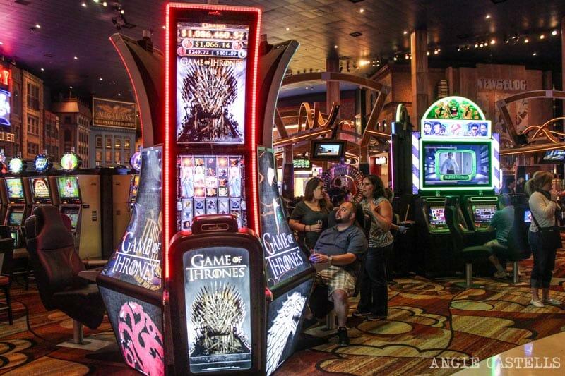 Guía de Las Vegas - Casinos y máquinas