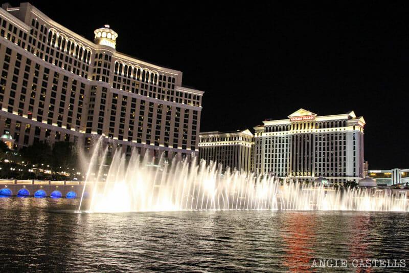 Guía de Las Vegas - Espectáculo de fuentes del Bellagio