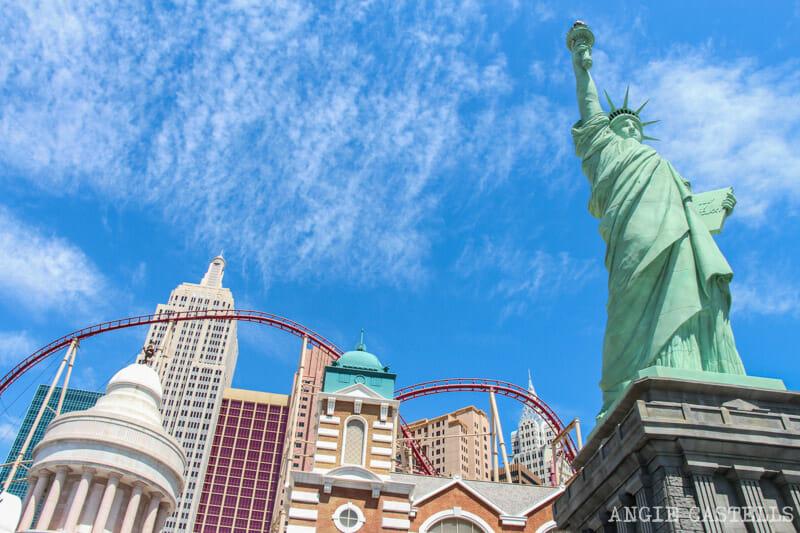 Guía de Las Vegas - El hotel New York New York