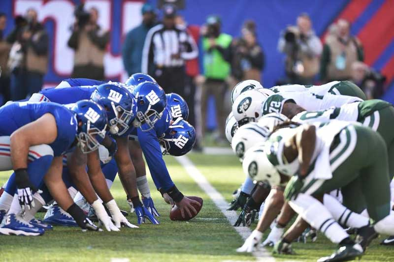 Giants vs Jets. © Giants.com