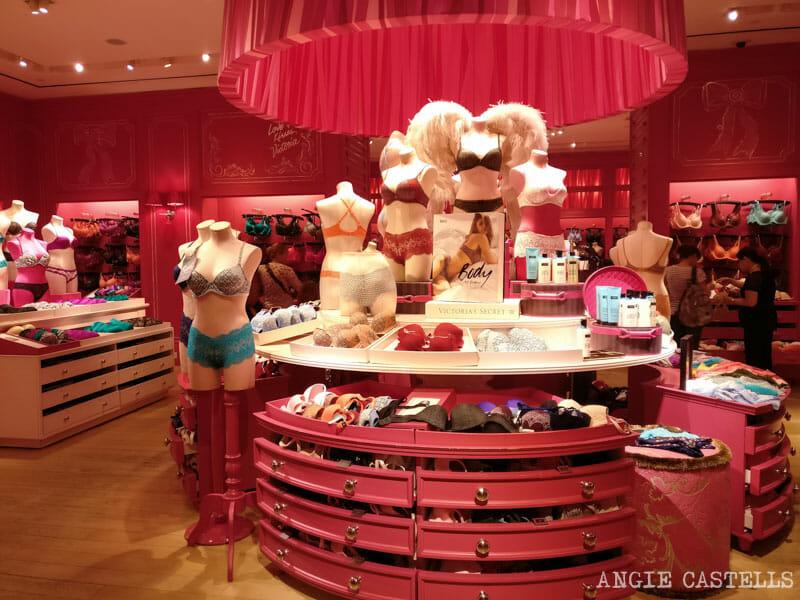 Dónde comprar ropa en Nueva York: la tienda Victorias Secret