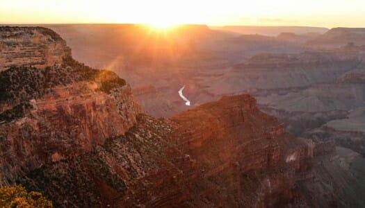 El Gran Cañón y sus miradores en un día
