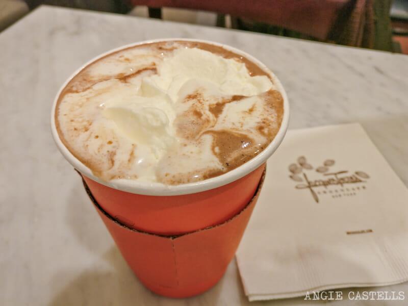 El mejor chocolate caliente de Nueva York - Hot chocolate de Jacques Torres