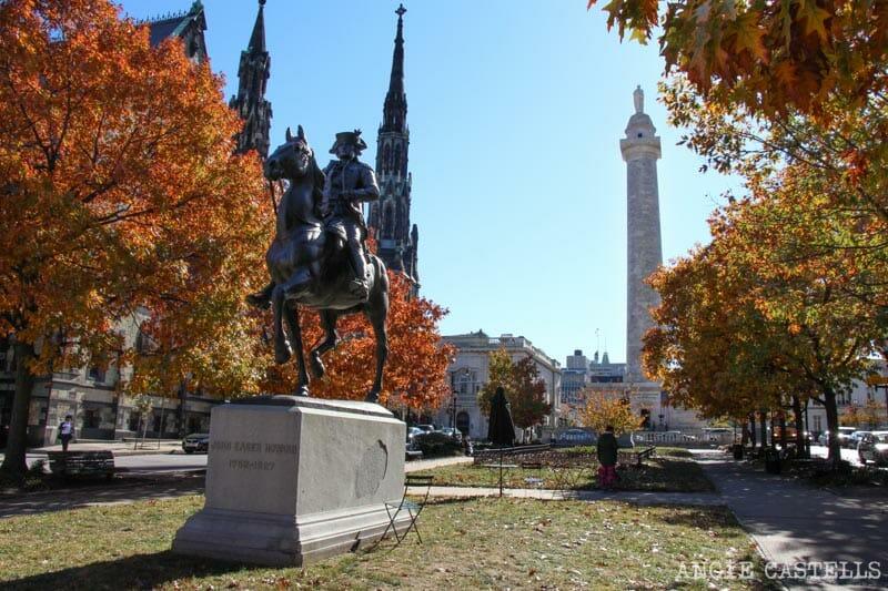 Guía de Baltimore qué ver en 2 días Mount Vernon