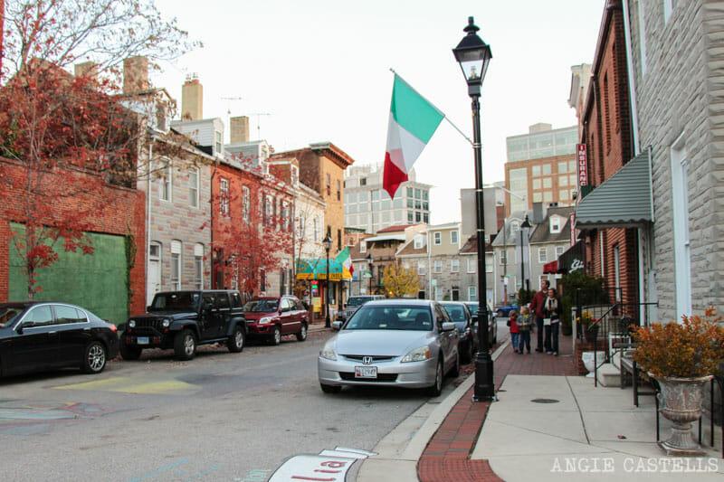 Guía de Baltimore qué ver en 2 días Little Italy